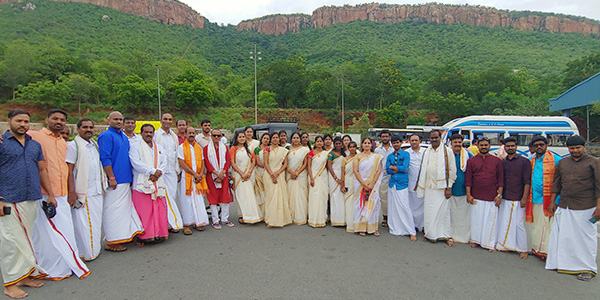 Samskriti Team at Tirumala