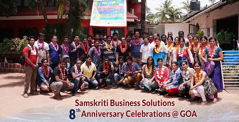 Samskriti Business Solutions 8th Anniversary Celebrations at Goa