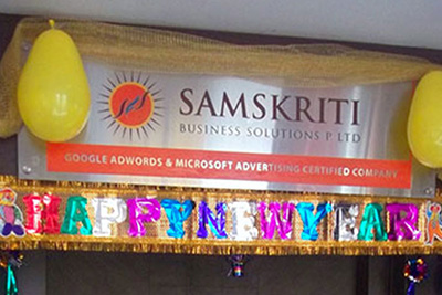 Samskriti Business Solutions Cheerful New Year Celebrations