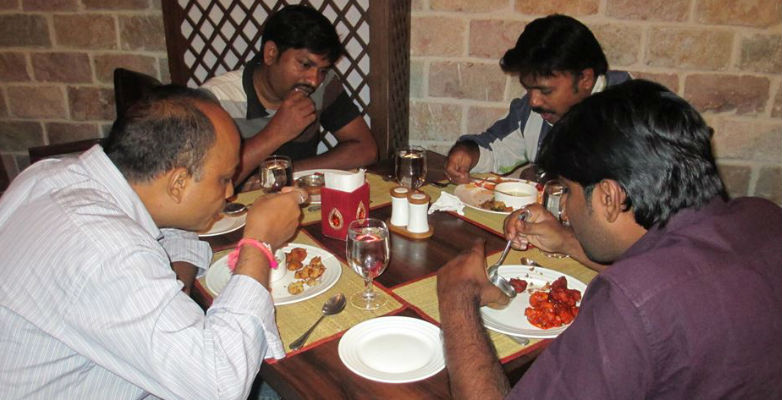 6th Anniversary celebration at S.J.Palate, Somajiguda