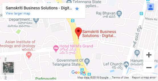 Samskriti Business Solutions Google map
