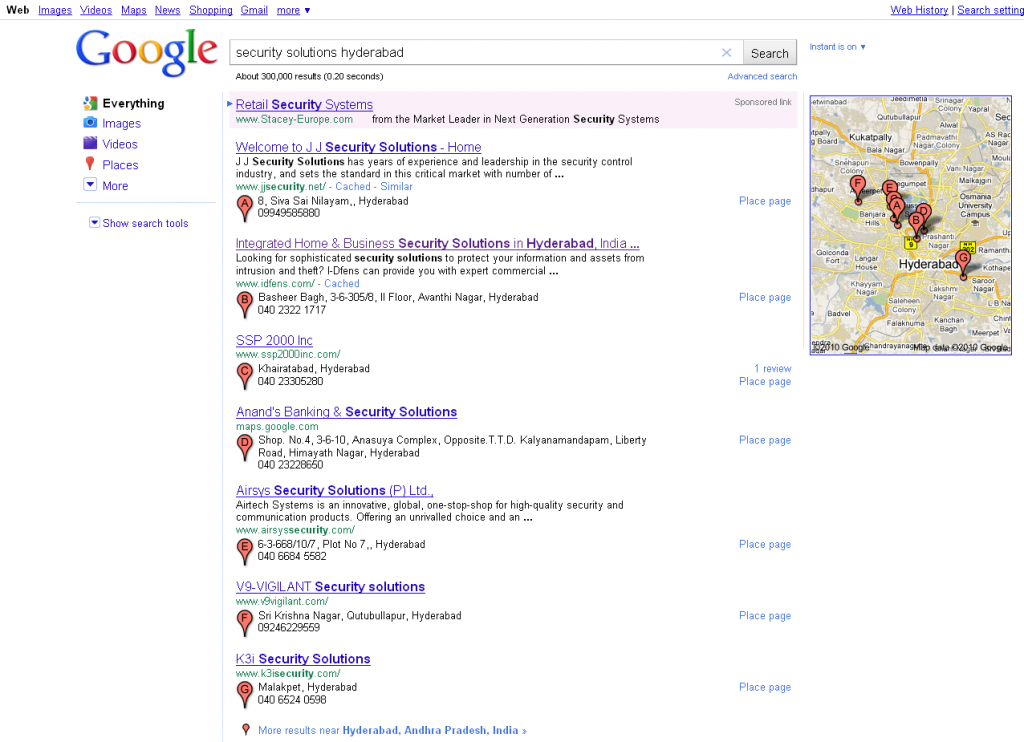 Targeted Traffic from Local Search