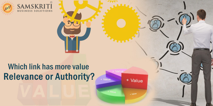 Relevance vs. Authority: Which link has more value?