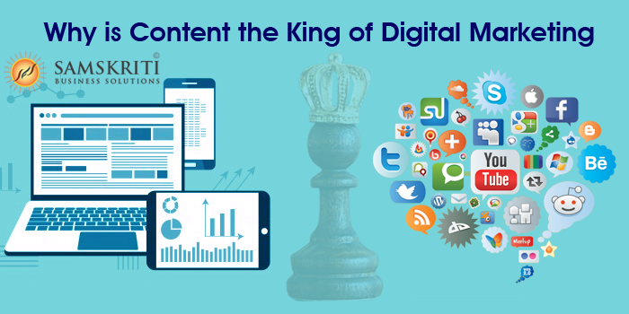 Why is Content the King of Digital Marketing