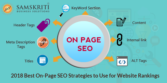 2018 Best On-Page SEO Strategies to Use for Website Rankings