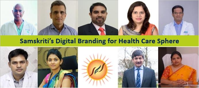Samskriti's Digital Branding for Health Care Sphere