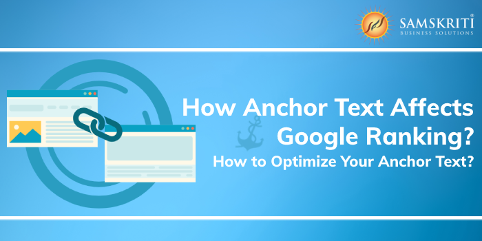 How anchor text effects your google ranking